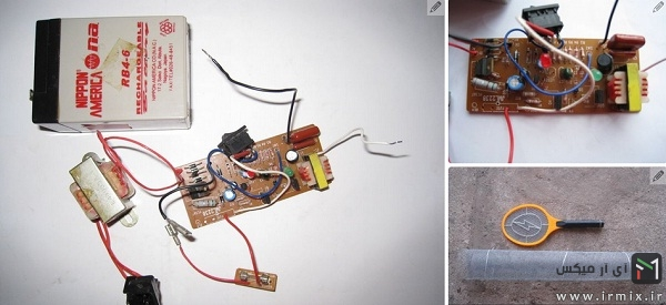 ساخت حشره کش برقی