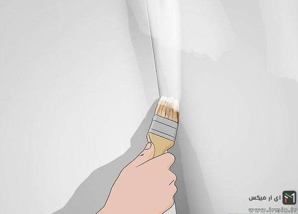 آموزش رنگ زدن دیوار