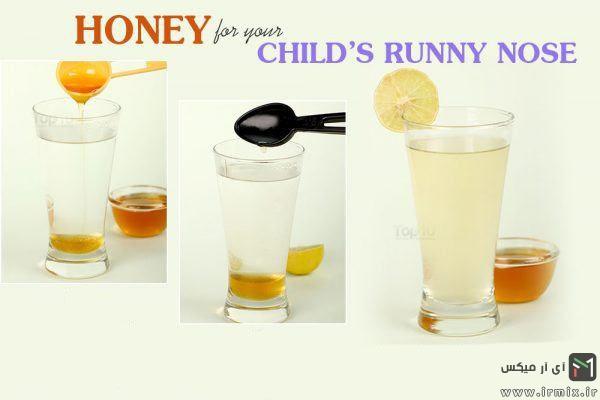 درمان آبریزش بینی در کودکان