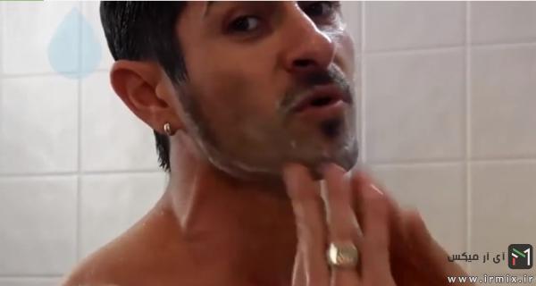 شستشوی صورت قبل از اصلاح