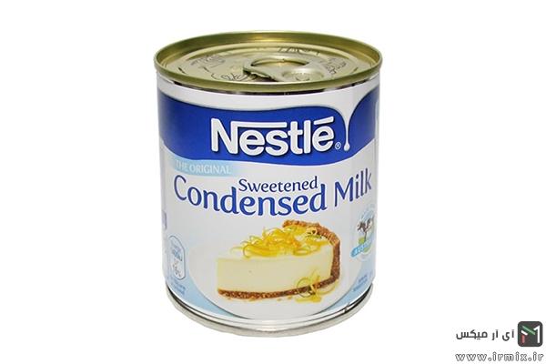شیر غلیظ شده شیرین
