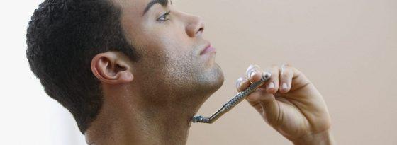 درمان و رفع جوش زیر گلو بعد از تیغ زدن یا اصلاح صورت مردانه بعد از ژیلت، تیغ و ..
