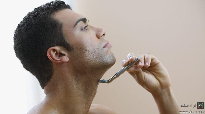 درمان و رفع جوش زیر گلو ،پشت گردن مردان بعد از اصلاح صورت