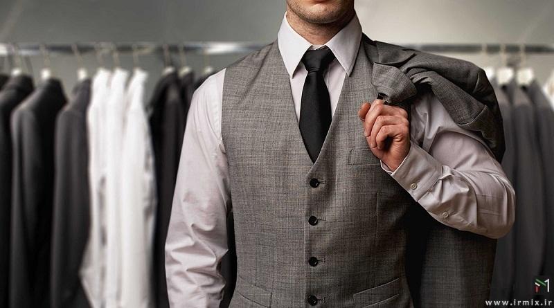 راهنمای انتخاب کت و شلوار مردانه برای افراد سبزه و انواع آن برای هیکل مردانه و ..