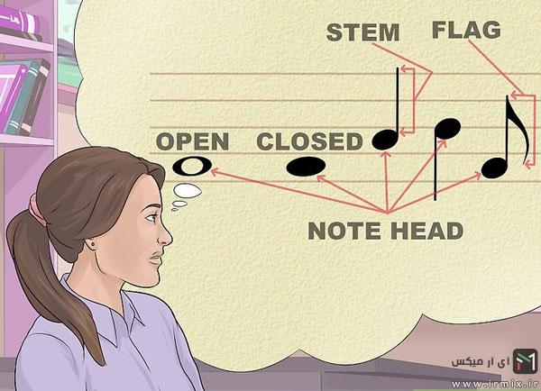 آموزش نت های موسیقی
