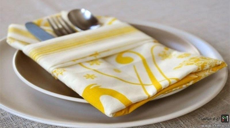5 Very Easy Napkin Folding Ideas