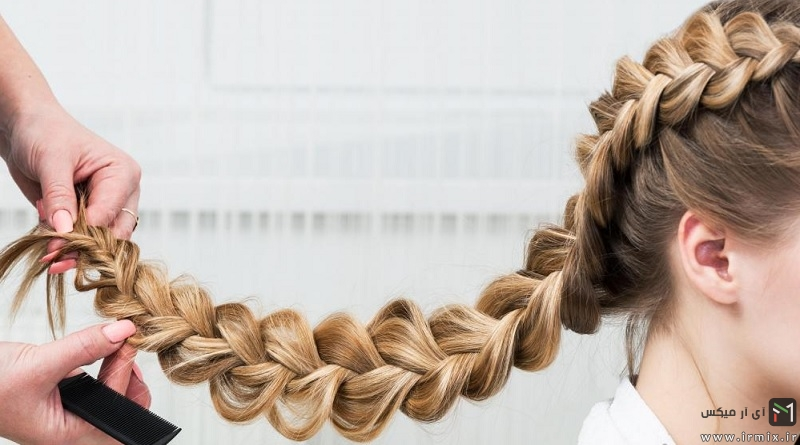 با این ۱۹ آموزش موی های خود را به زیباترین شکل ببافید! + ویدئو