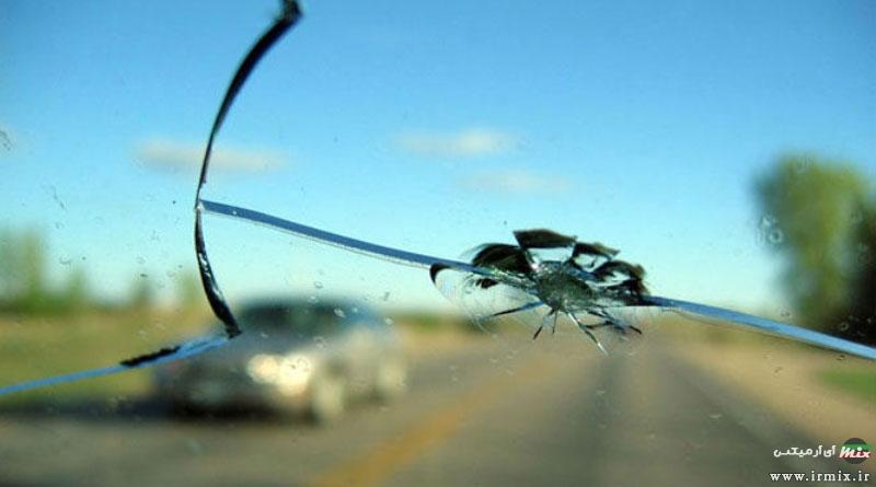 آموزش تصویری نحوه تعمیر ترک و شکستگی شیشه جلو ماشین