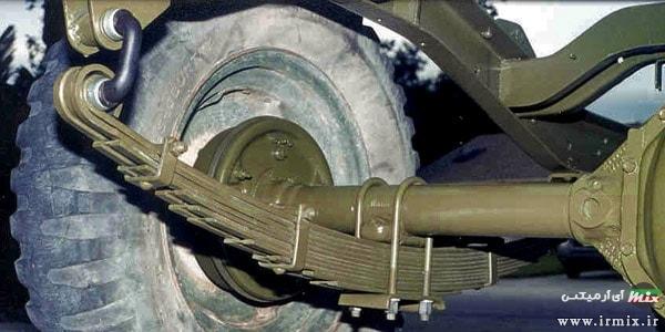 کمک فنر شمشی در پیکان و ماشین های سنگین