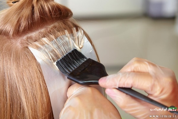 عامل حساسیت به رنگ مو