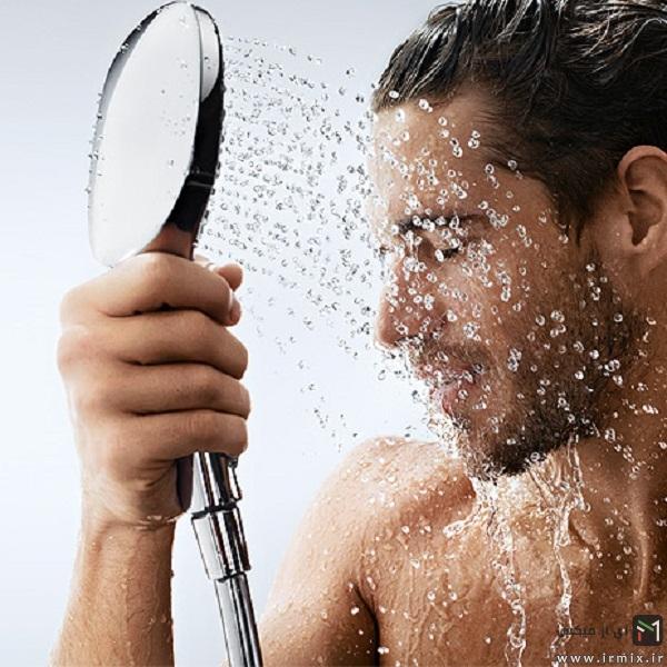 دوش آب گرم