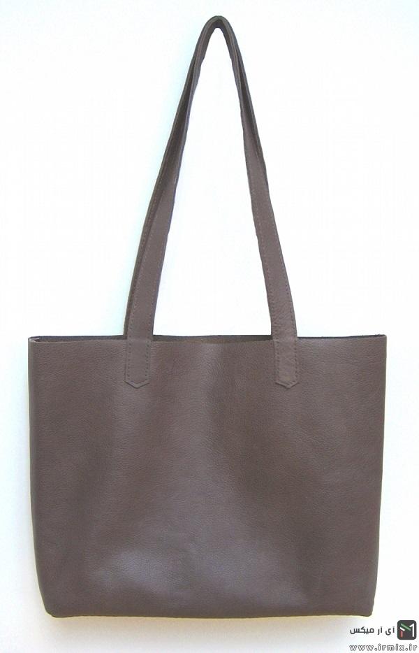 آموزش دوخت کیف چرم مجلسی زنانه
