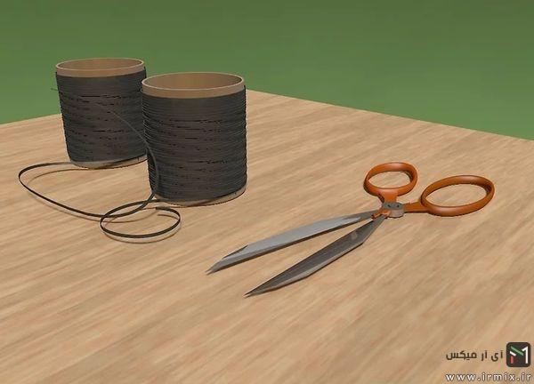 مواد لازم برای بافت دستبند چرمی