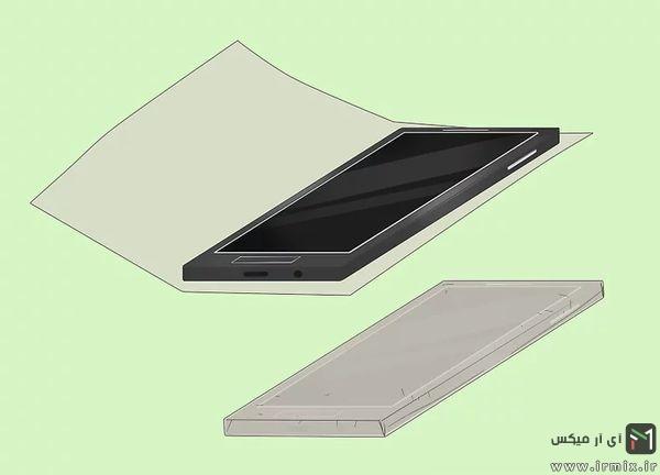 ساخت قاب گوشی چسبی
