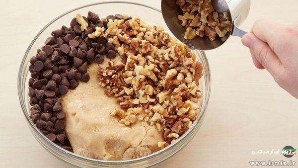 طرز تهیه کوکی با چیپس شکلات