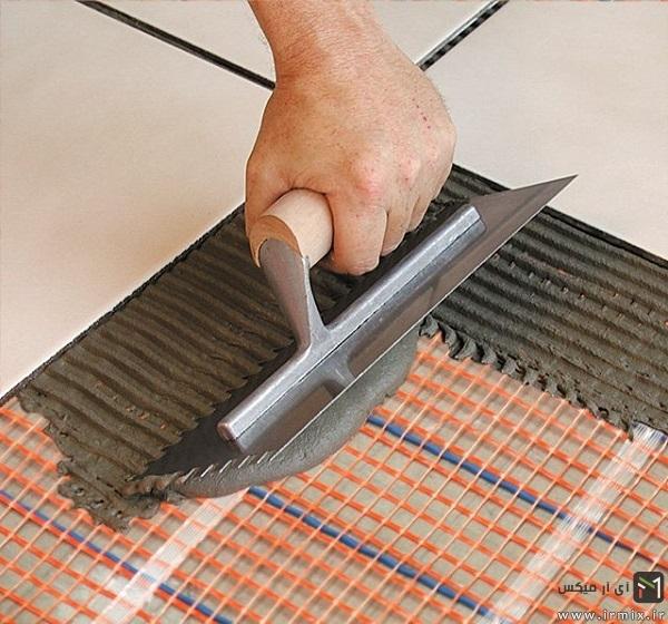گرم کردن کف خانه