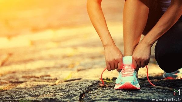 پیاده روی در ظهر