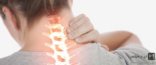 علت رگ به رگ شدن گردن