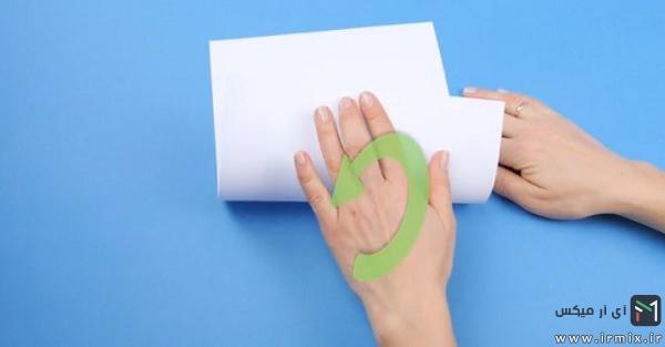 تا کردن کاغذ