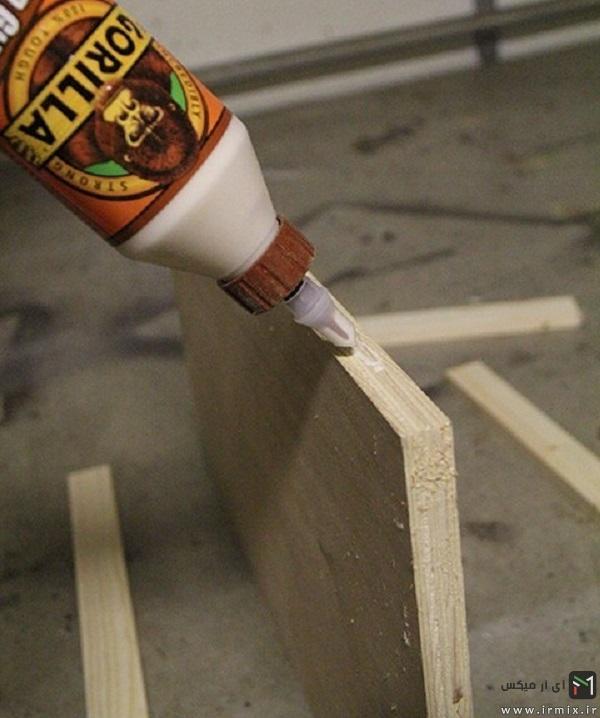 ساخت جاکلیدی دیواری با چوب