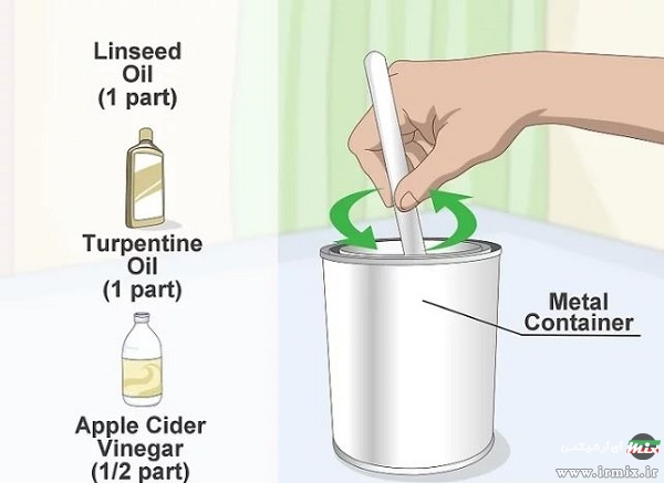 اسپری ضد آب برای چوب