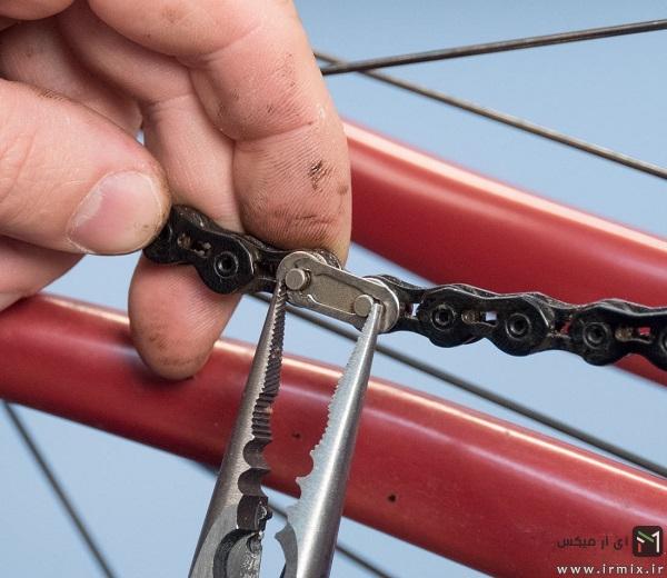 تعمیر زنجیر دوچرخه