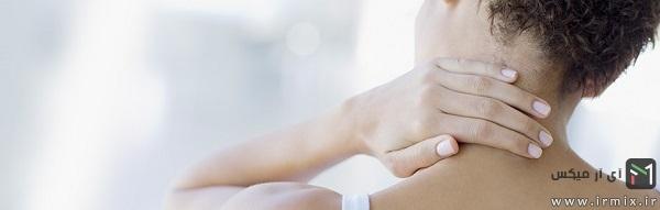 درمان رگ به رگ شدن گردن