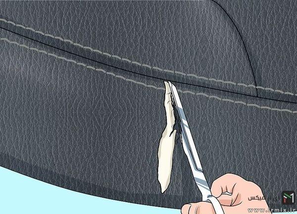 قیچی کردن لبه ها