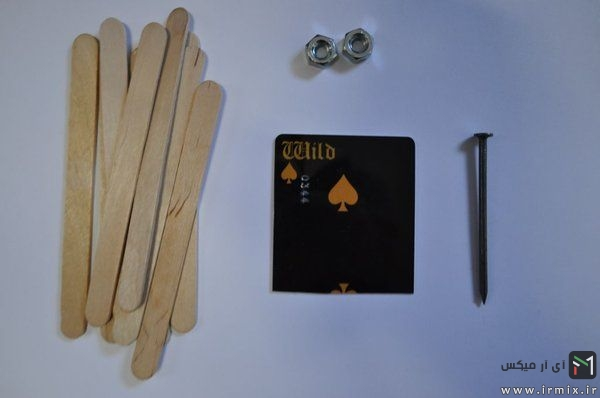 مواد لازم برای ساخت چاقو چوبی