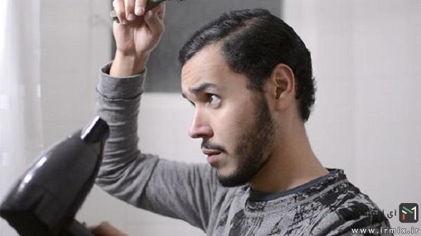 آموزش سشوار کشیدن موی مردانه