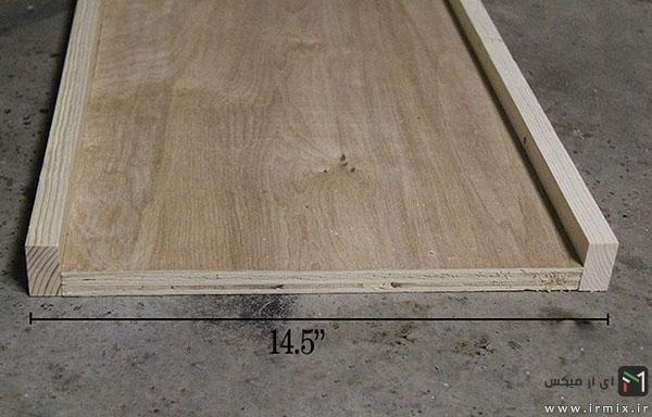 ساخت جاکلیدی دیواری چوبی