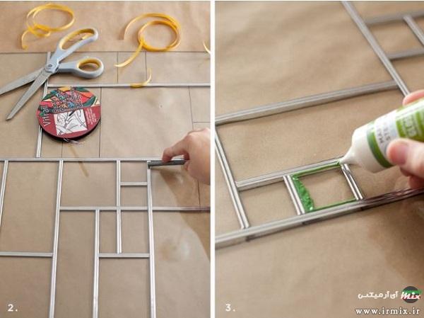 طریقه رنگ کردن شیشه