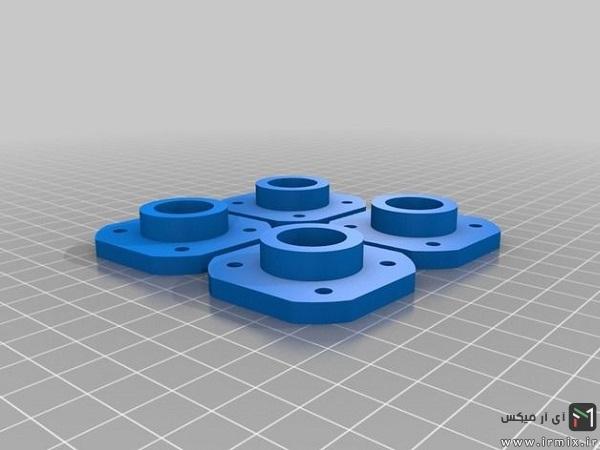 قطعات پلاستیکی فوتبال دستی