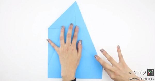 تا زدن دوباره مثلث ها