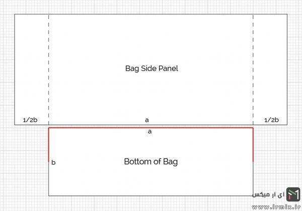 ابعاد کیف چرم