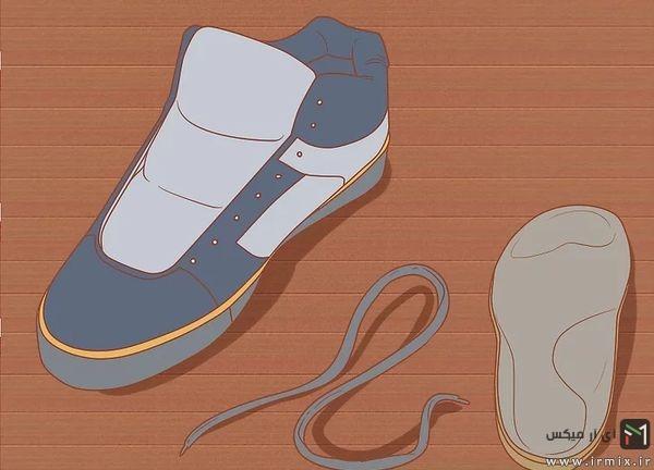 شستن کفش ورزشی در ماشین لباسشویی
