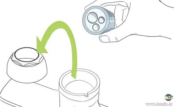 رفع چکه شیر تصفیه آب