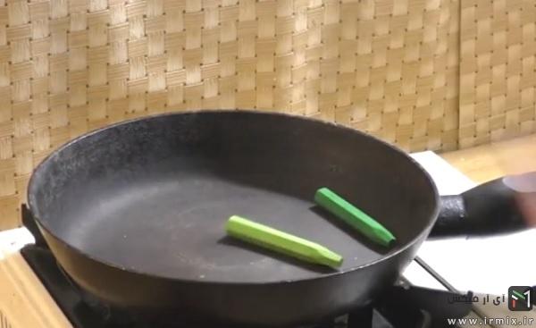 آموزش ساخت ترقه دودزا رنگی