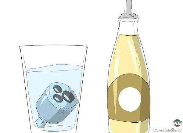 رفع چکه شیر آب