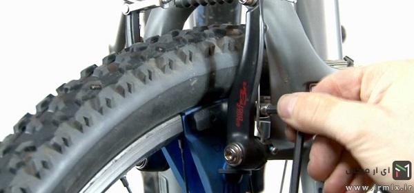 تعمیر ترمزهای دوچرخه