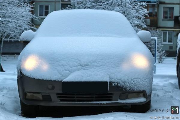 گرم کردن خودرو