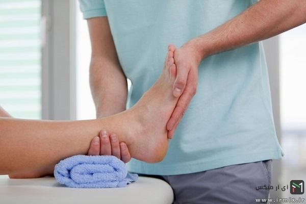 درمان درد پشت پاشنه پا