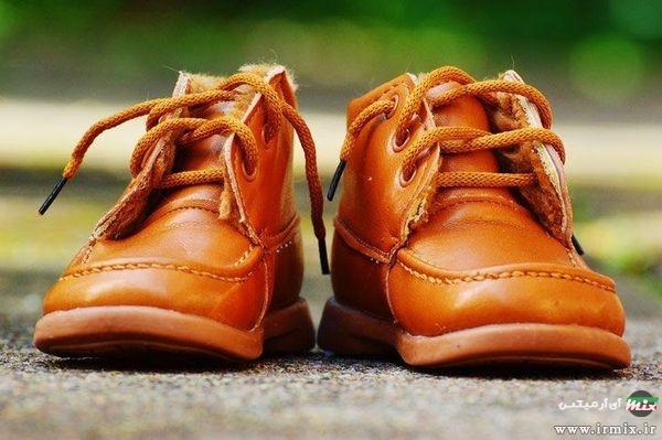 علت چروک شدن کفش چرم