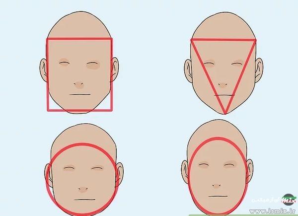 انواع شکل صورت