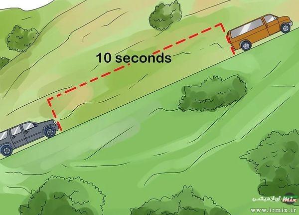 نکات مهم در رانندگی در سربالایی