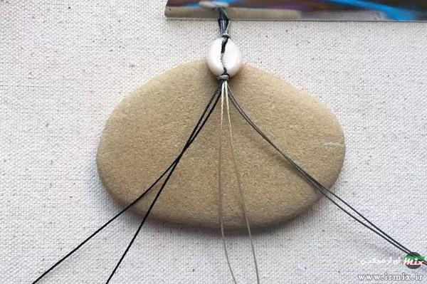 آموزش ساخت پابند با زنجیر