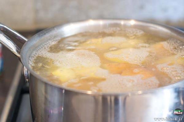 پخت سریع سیب زمینی