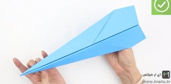 درست شدن موشک آبی رنگ