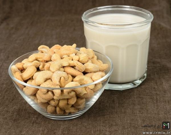 شیر بادام هندی