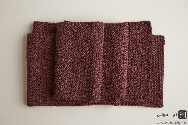 Mini Herringbone Scarf